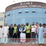 PAKISTAN CRICKET LEGENDS VISIT KORT