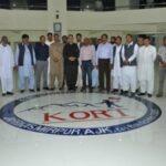 FORMER PM SARDAR ATTIQUE AHMED KHAN VISITS KORT EDUCATIONAL COMPLEX