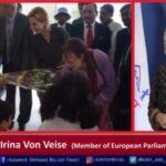 A DELEGATION OF MEP'S VISIT KORT