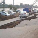 EARTHQUAKE STRIKES MIRPUR, AZAD JAMMU AND KASHMIR