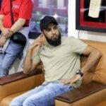 World Cup Winning England Cricketer Adil Rashid visits KORT
