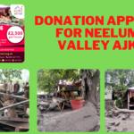 Donation Appeal for Neelum Valley in AJK