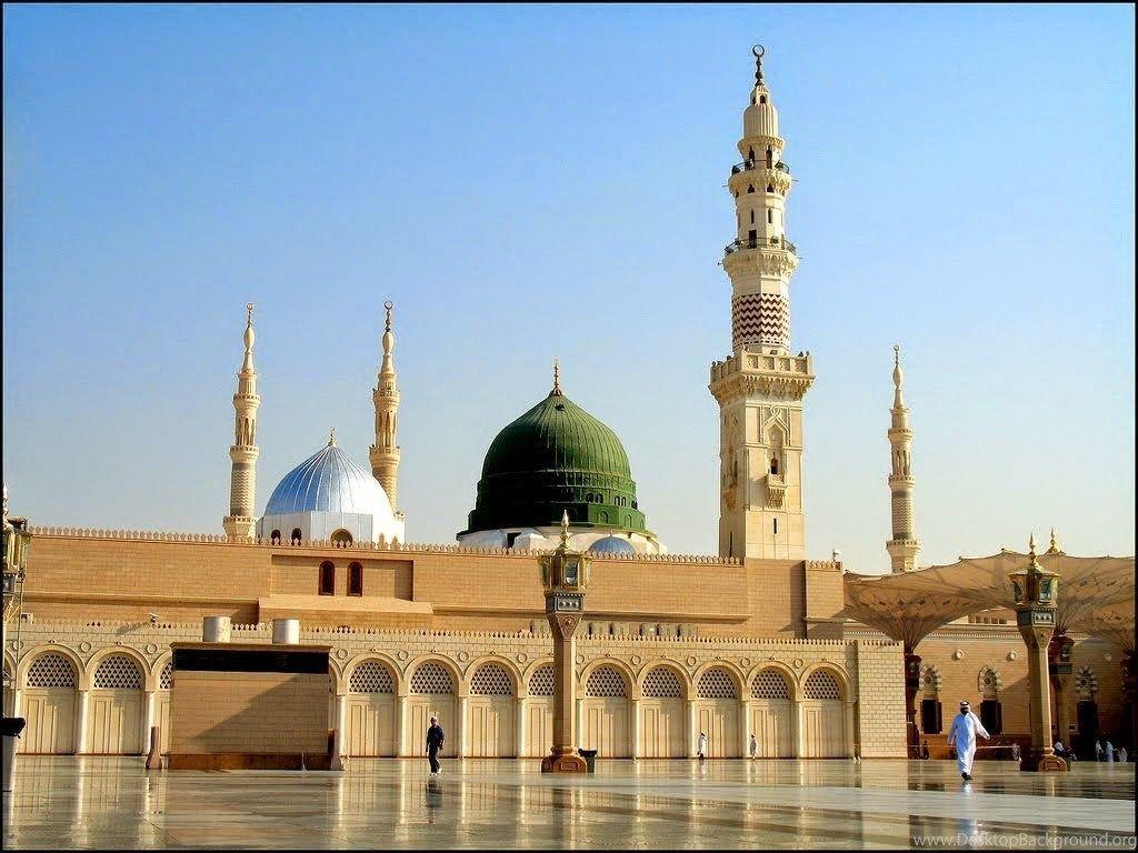the masjid in Madina